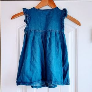 Gymboree Dresses - Gymboree Jean Dress with bloomers Girls 2t
